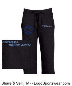 Junior Fit Ladies Boyfriend Sweatpant Design Zoom